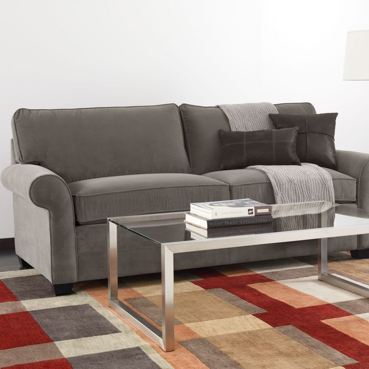 Bennett Two Cushion Roll Arm Sofas And Loveseat Ethan