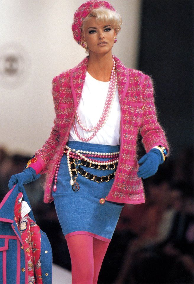Chanel RTW Fall 1991 | Hip Hop Collection | Linda ...