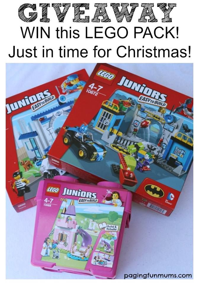 W I N 3 fabulous LEGO sets in time for Christmas! Simply follow this link for your chance to WIN! http://pagingfunmums.com/…/using-lego-help-foster-confiden…/