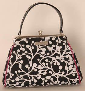 My favourite purse designer. . .Karen Wilson (she's even Canadian)