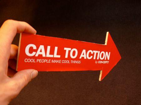 Хороший призыв к действию не оставляет клиенту выбора