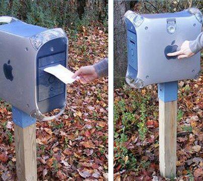 caixa de correio moderna :-)