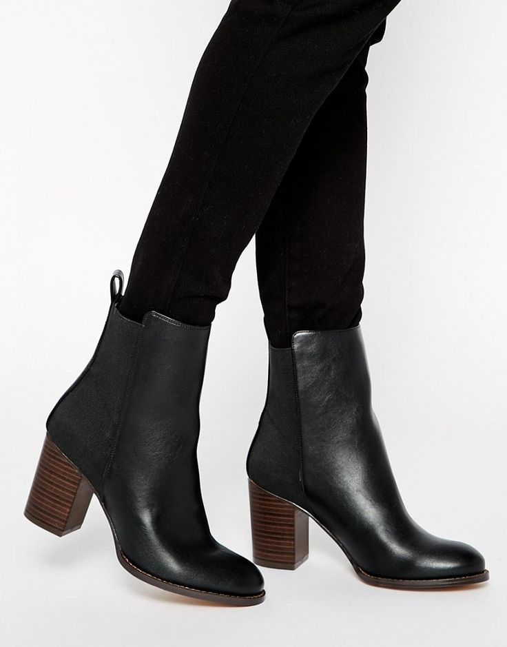 best 25 chelsea boots heel ideas on black
