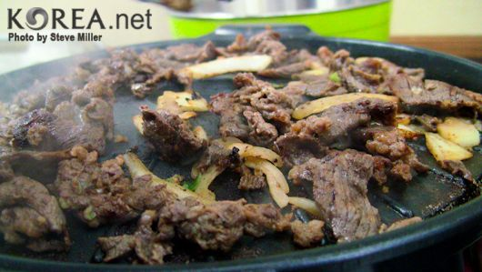 Grilled Marinated Hanger Steak Bulgogi-Style Read more at: http://www ...