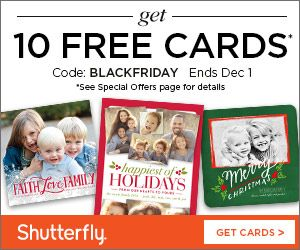 Shutterfly is offering 10 FREE Cards + a FREE Photo Calendar right now!