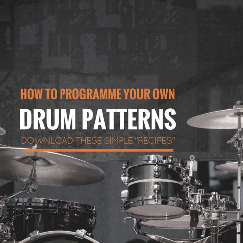 How to programme your own drum patterns - a beginner's guide for students (part 1)
