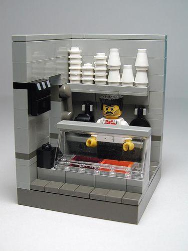 LEGO Cafetería