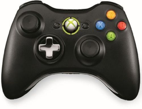 From 67.99:Official Xbox 360 Wireless Controller With Play And Charge Kit - Black (xbox 360)