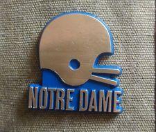 NCAA vintage Notre Dame Fighting Irish college fridge rubber magnet