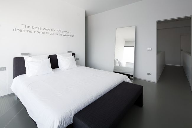 white out bedroom