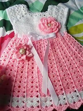 Espectacular ropa para bebes recién nacidos a crochet 339acd6371c0
