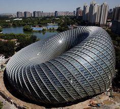 Beijing's new Phoenix International Media Centre, China