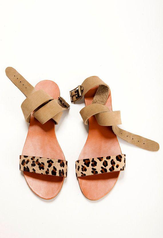 VeranoLeopardo El Y SandaliasUn Beige Color Zapatos De Beagie QtsCxBdhro