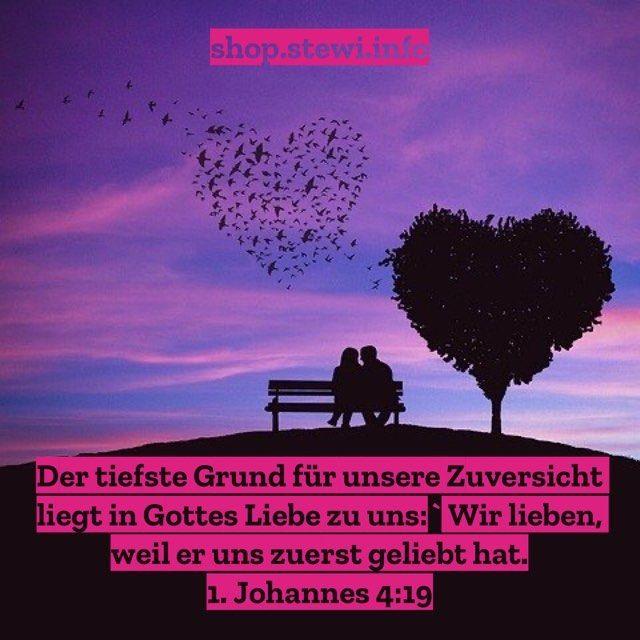 Zuversicht Zuversichtlich Hoffnung Glaube Liebe Jesus Gott Bibel Bibelvers Johannes Geliebt Stewi Paar Parchen Liebe Movie Posters Movies Poster