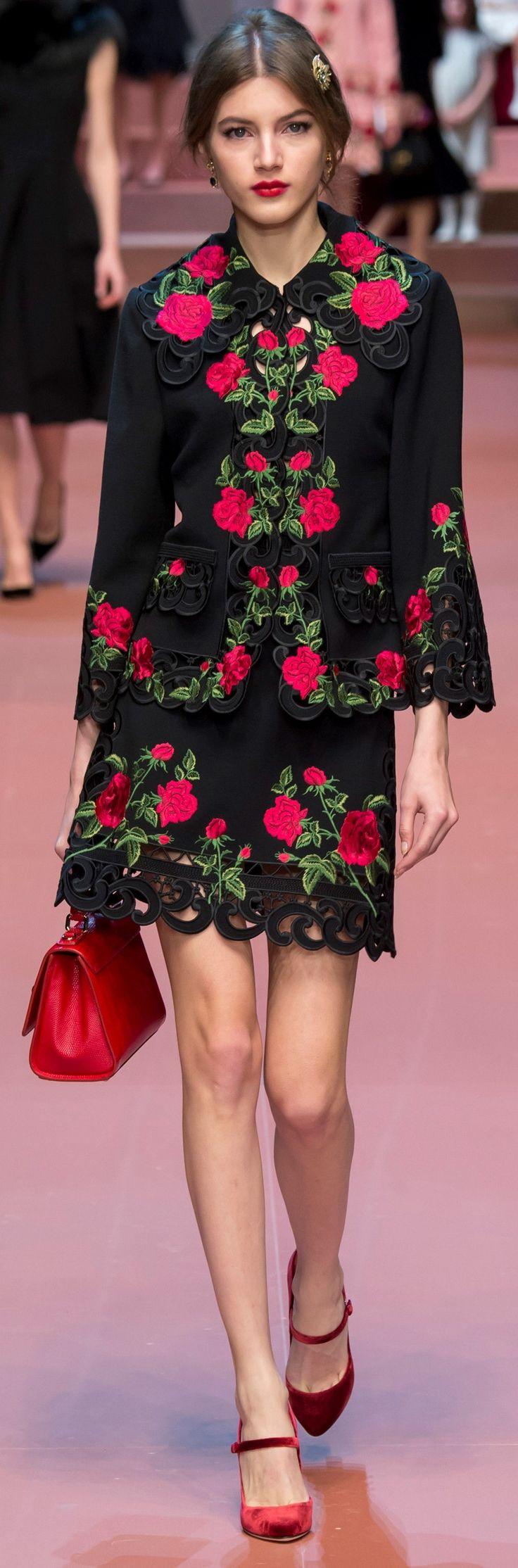 Dolce & Gabbana Autumn 2015, Valery Kaufman