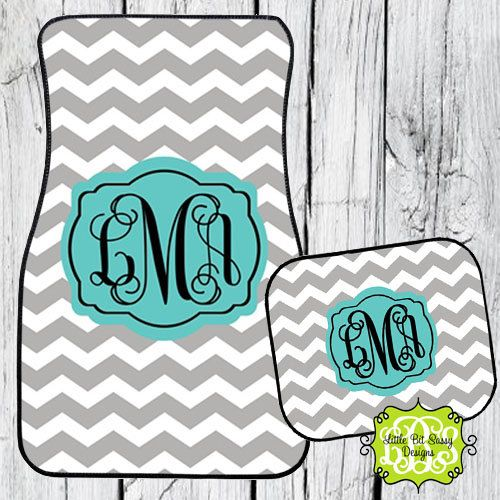 chevron car floor mats. car mats chevron personalized monogrammed floor by littlebitsassy 3200 c