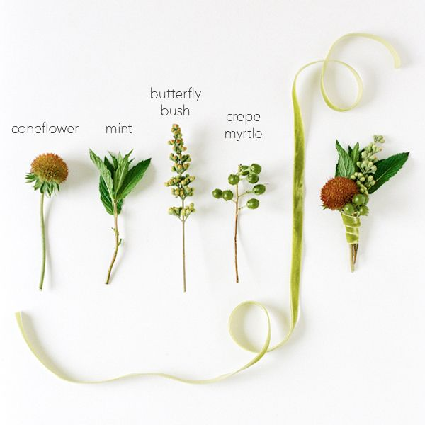 Diy Wedding Boutonniere Once Wed Garden Flowers