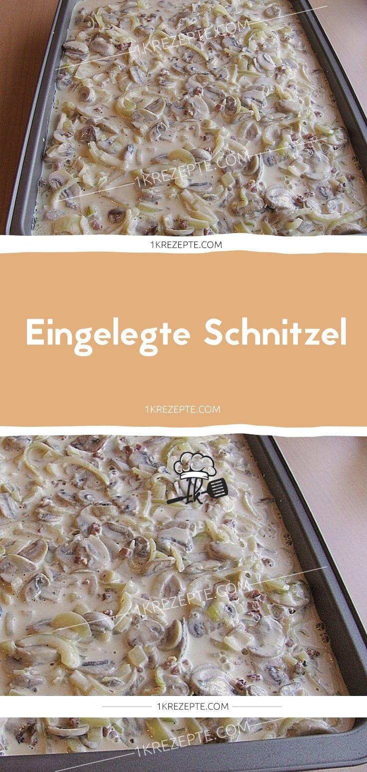 Eingelegte Schnitzel – Andrea Schroth