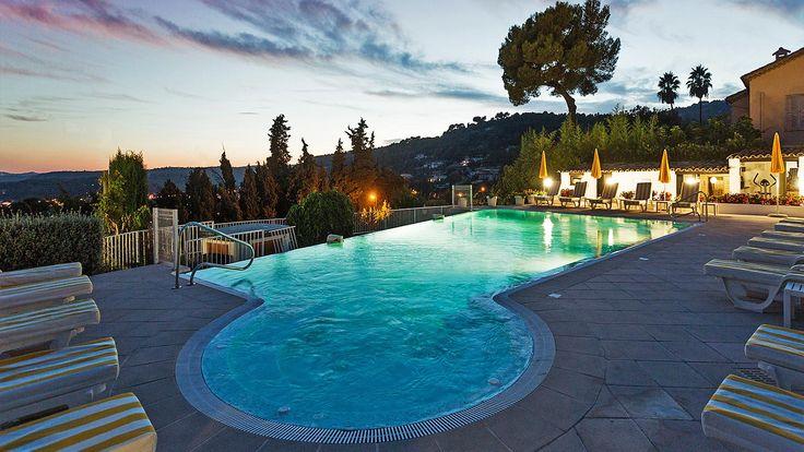short list -> Hotel pool Saint Paul de Vence | Le Hameau