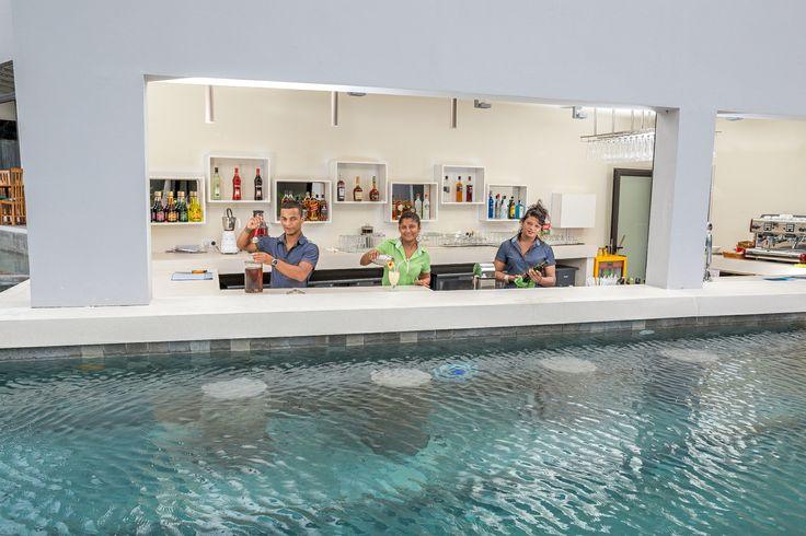 Im Norden von Mauritius in Trou aux Biches liegen die neuen Beach Apartments nur durch die Beach Road 100m vom kilometerlangen Strand entfernt.  24 Std Rezeption Nichtraucher Studios/Apartments W-LAN (gratis im Hotel und Studios/Apartments)  Geldwechsel  Alle gängigen Kreditkarten Parkplatz Swimmingpool – Liegen Wäscherei/Bügelservice (gegen Gebühr) Bar Restaurant