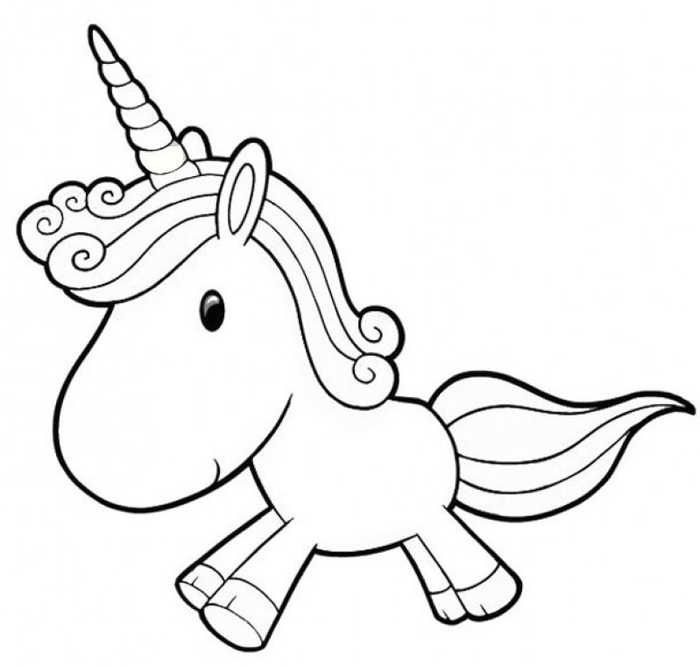 - Baby Unicorn Coloring Page Unicorn Coloring Pages, Cartoon Coloring  Pages, Star Coloring Pages