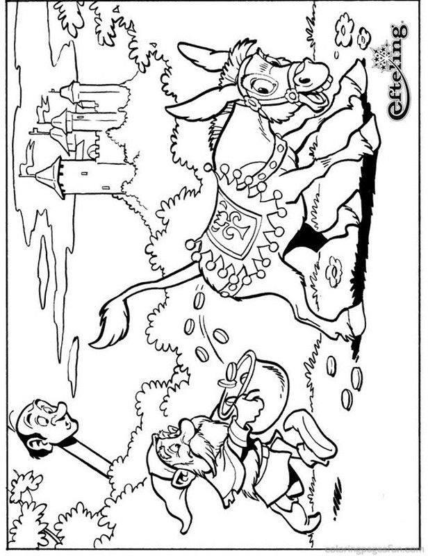 Fairy Tale Tree  Sprookjesboom Coloring Pages 5