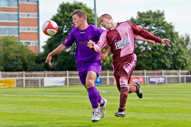 Corinthian-Casuals versus Carshalton Athletic