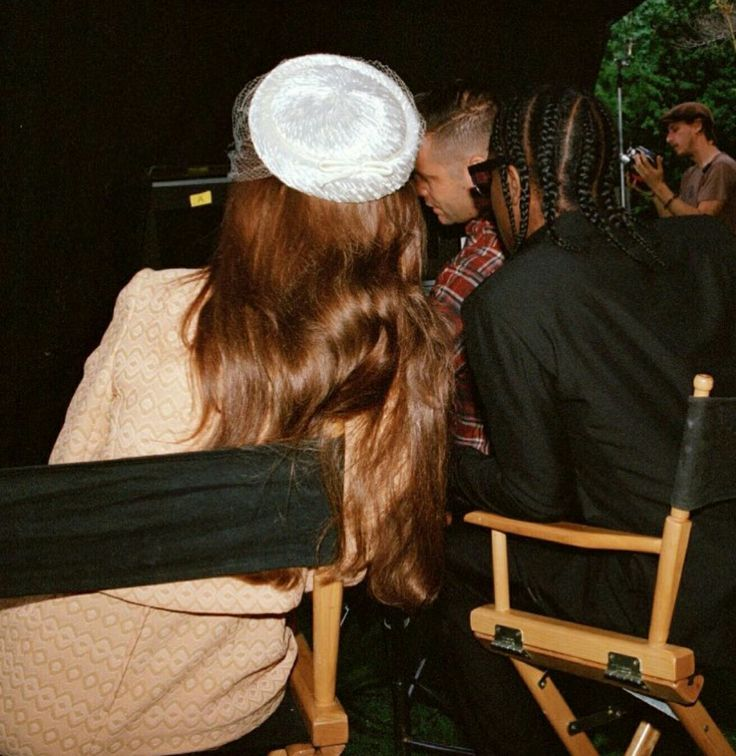 Lana Del Rey and ASAP Rocky behind-the-scenes of the 'National Anthem' music video (2012) #LDR