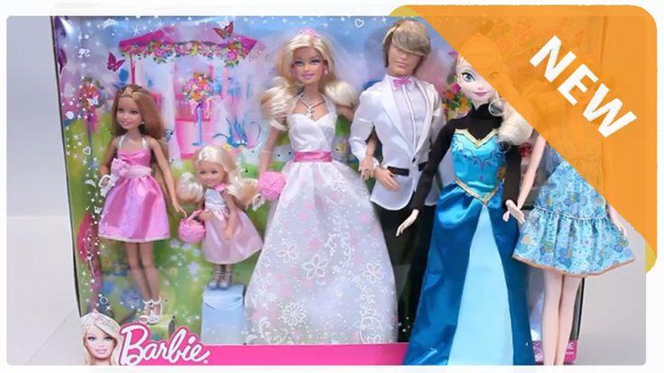 Unboxing Mainan Boneka Bayi ❤ Mainan Pakaian Pengantin Terbaru ❤ Mainan ...