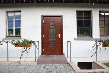 Двери деревянные. Двери входные щитовые