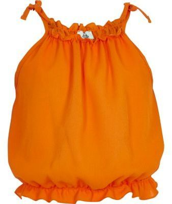 River Island Girls orange cami sleeveless top