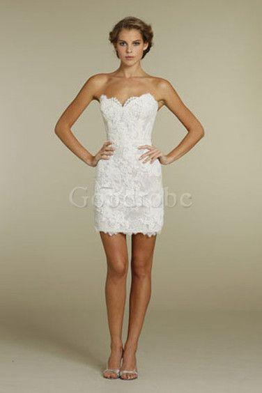 Robe de mariée sans manches fourreau romantique glamorous & dramatique - photo 4