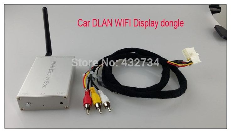 Car vehicle dlan miracast sharing screen display box carplay