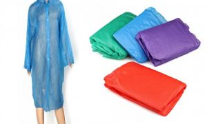 €6 Instead of €12 for a Unisex Waterproof Raincoat!!! (Delivery included)