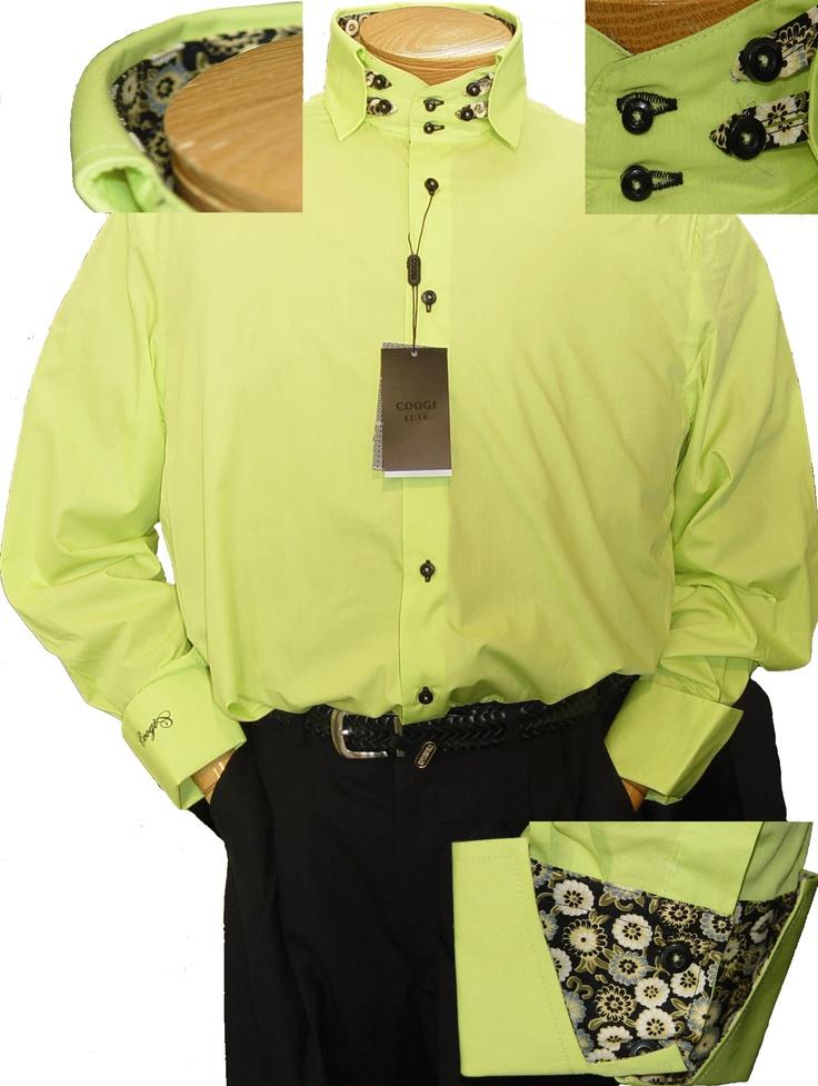 yellow dress shirt mens 6x