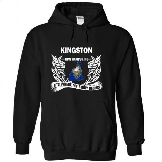 Kingston - Its where my story begins! - #boyfriend tee #sweatshirt quotes. CHECK PRICE => https://www.sunfrog.com/No-Category/Kingston--Its-where-my-story-begins-Black-66398367-Hoodie.html?68278