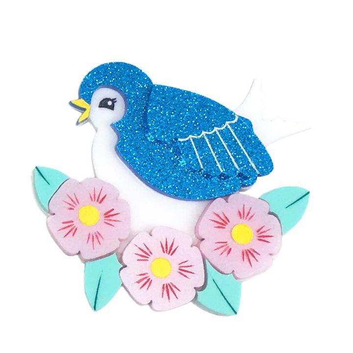 BLOOMING BARBARA BLUEBIRD