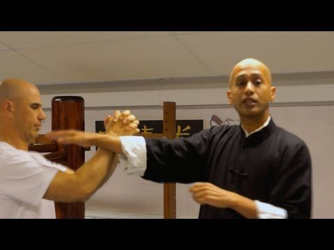 Wing Chun - Generating & Applying Force Against A Stronger Attacker - YouTube