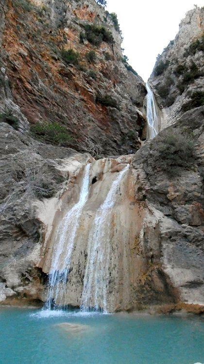 The waterfalls of Lepida, Parnona mountain, Arcadia, Greece