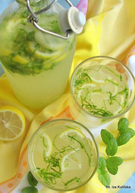 Smaczna Pyza: Lemoniada miodowa