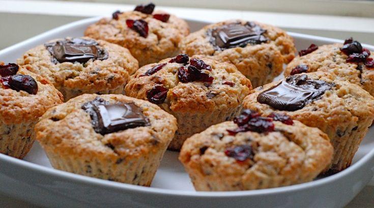 Mandlovo-banánové muffiny