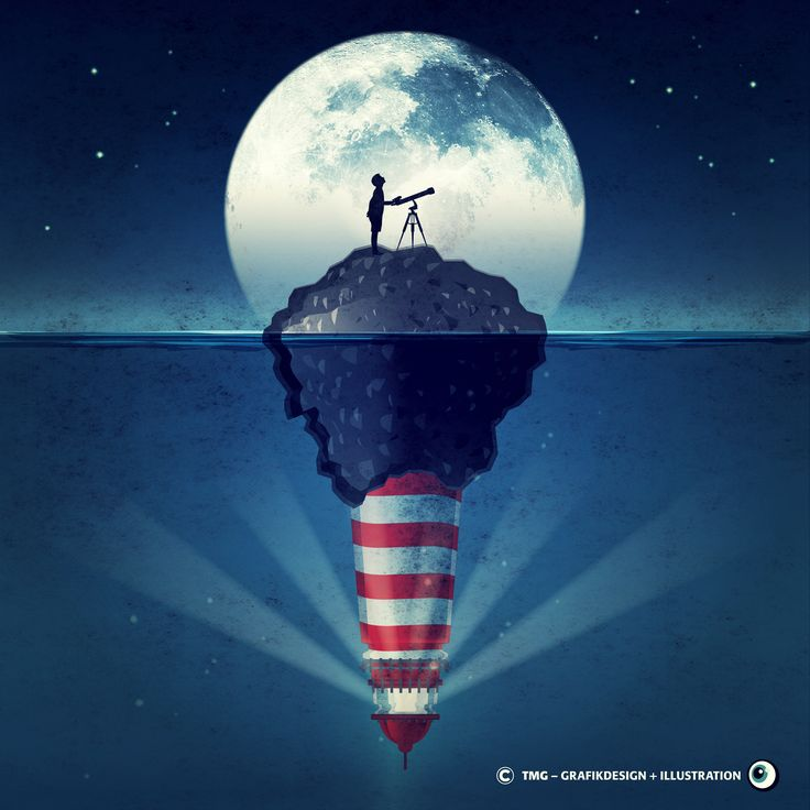 #grafikdesign #grafikdesigner #graphicdesign #graphicdesigner #instaart #instaartist #design #passion #inspiration #art #artwork #artist #creative #creativity #instamoon #germany #drawing #silhouette #fullmoon #illu #designer #illustration #illustrator #moon #telescope #lighthouse #sea #light #horizon #silence