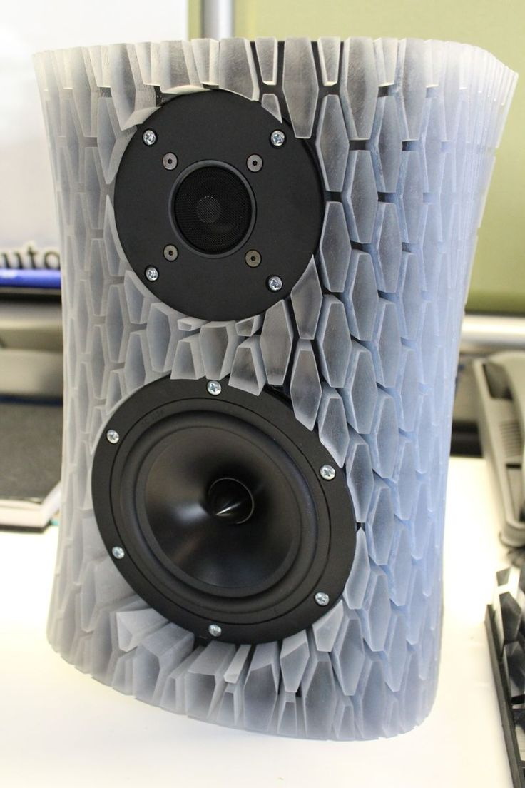 3d Printed Audio Speakers D I Y Video More Http