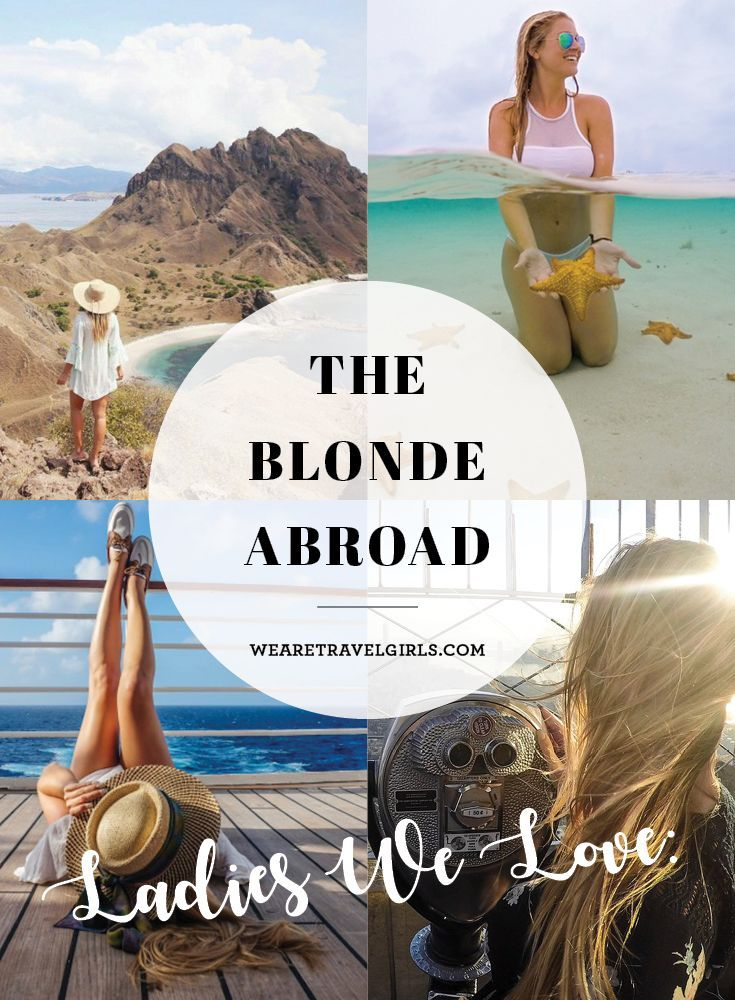 LADIES WE LOVE: THE BLONDE ABROAD If you're reading this then you are most likely a travel girl who loves all things wanderlust, so you have undoubtably heard of the very popular travel blog The Blonde Abroad. Kiersten seems to be everywhere, doing it all, but this week she graciously took some time out of her busy schedule to answer 12 questions for us about her life as a successful travel writer. CONNECT WITH KIERSTEN TheBlondeAbroad.com