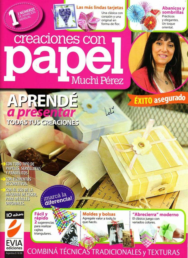 Revistas de manualidades Gratis: Revista Creaciones con Papel