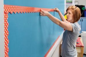 Teachers share their creative advice for decorating a classroom on a budget.