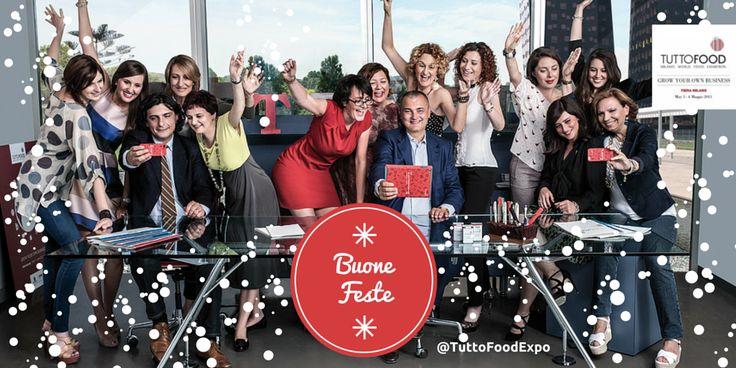 I nostri auguri di Buone Feste!!! #TuttoFood #TuttoFood2015 #Milano