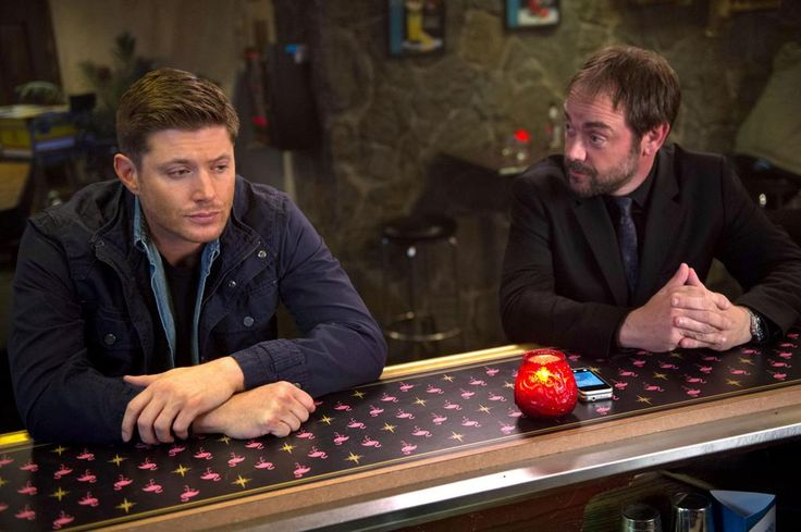 Crowley notices Dean is becoming more and more aggressive on an all-new #Supernatural TONIGHT at 9/8c!