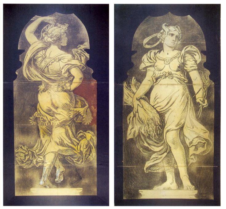 Székely Bertalan: A művészet allegóriája és a Ceresz című alkotása, 1880-1881