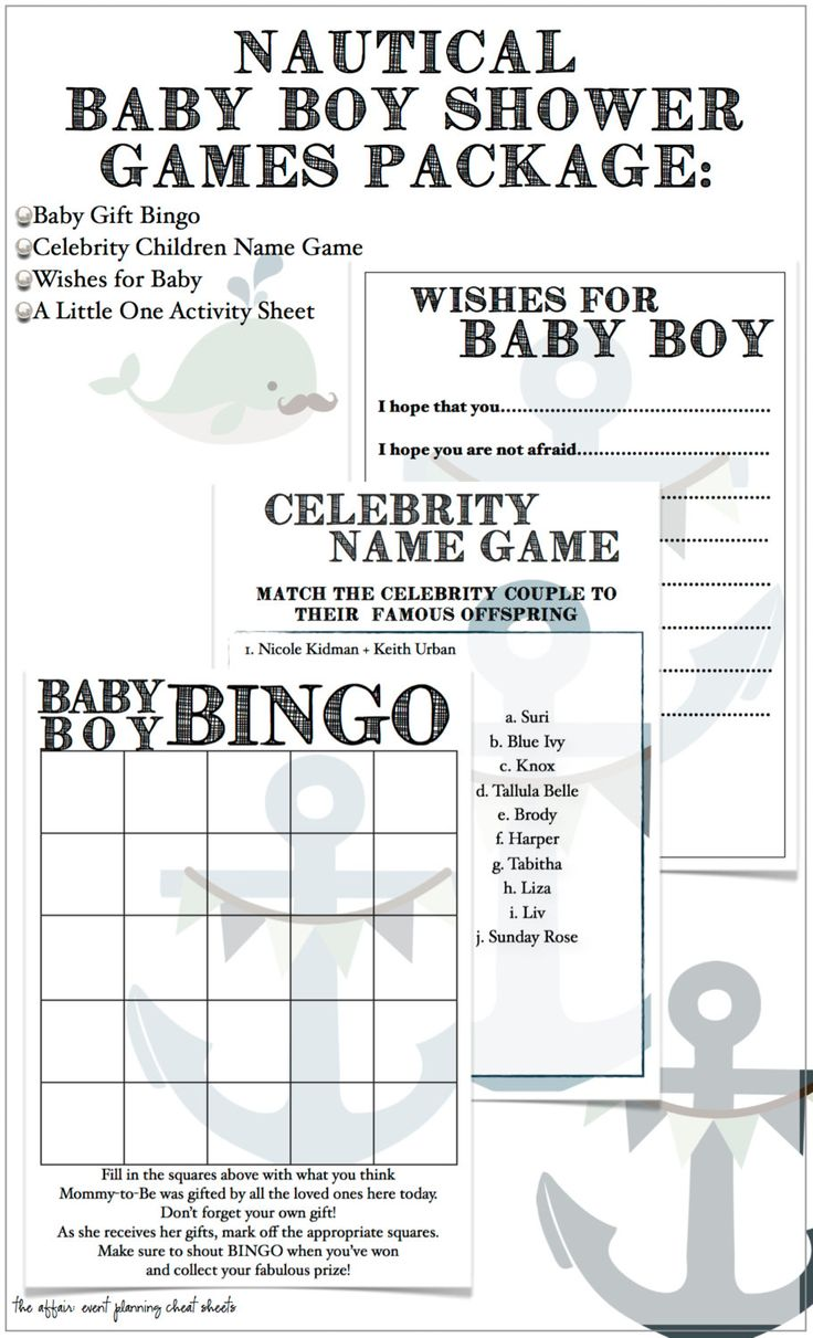 15 Refreshingly Different Baby Shower Games | Fun Baby ...